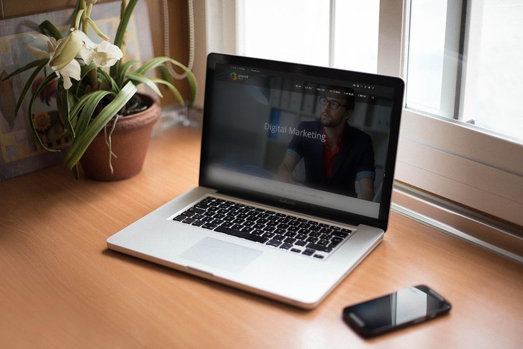 Granulr Digital Markting Website Mockup
